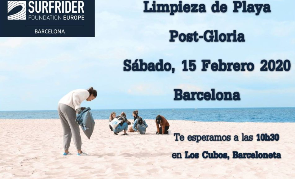 Beach cleanup – Barcelona 15/02
